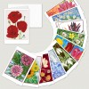 """""""MAJOBA Anniversary Set Flowers"""" with 25 Art Cards with motifs of two decades plus envelope"""
